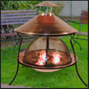 build your own outdoor firepit in a beatiful ozarks vacation home.