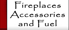 fireplace and accessory web site header.