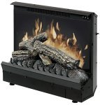 electric fireplace log insert.