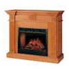 charmglow cherry electric fireplace.